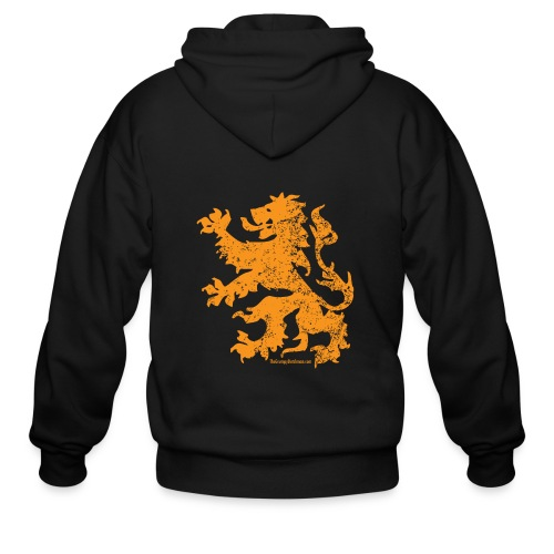 Dutch Lion - Men's Zip Hoodie