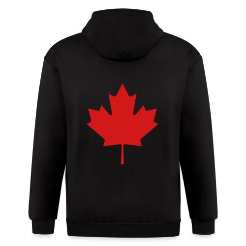Maple Leaf - Men's Zip Hoodie