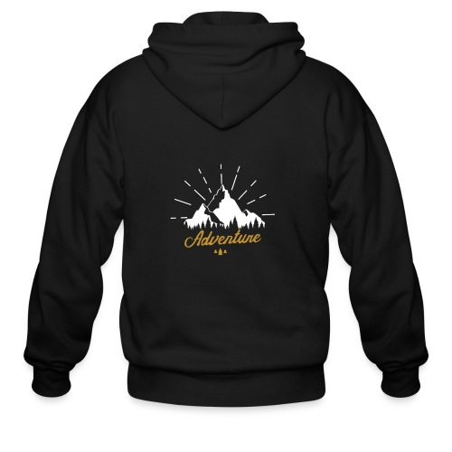Adventure T-shirts Tees and Products - Men's Zip Hoodie