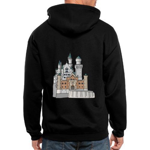 Neuschwanstein Castle, Bavaria - Men's Zip Hoodie