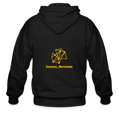 gaming network gold - Men's Zip Hoodie