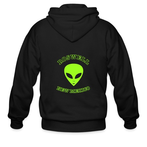 Roswell New Mexico - Men's Zip Hoodie