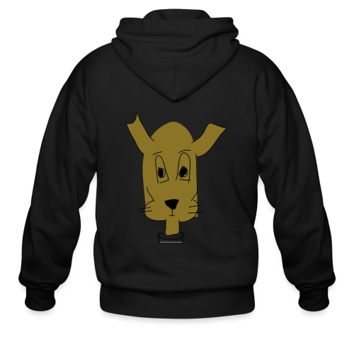 ralph the dog - Men's Zip Hoodie
