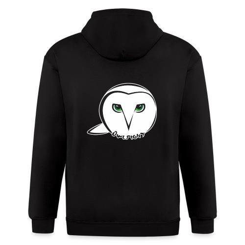 Owlsight - Men's Zip Hoodie