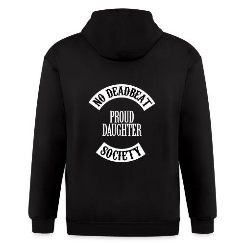 Proud Daughter T-shirt (Kids) - Men's Zip Hoodie