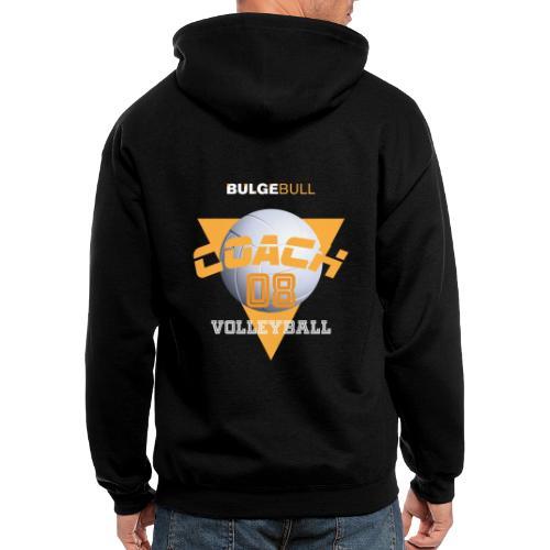 bulgebull volleyball - Men's Zip Hoodie