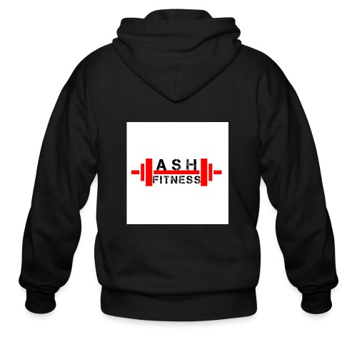 ASH FITNESS MUSCLE ACCESSORIES - Men's Zip Hoodie