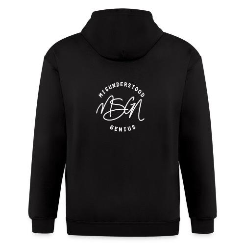 MSGN Logo - Men's Zip Hoodie