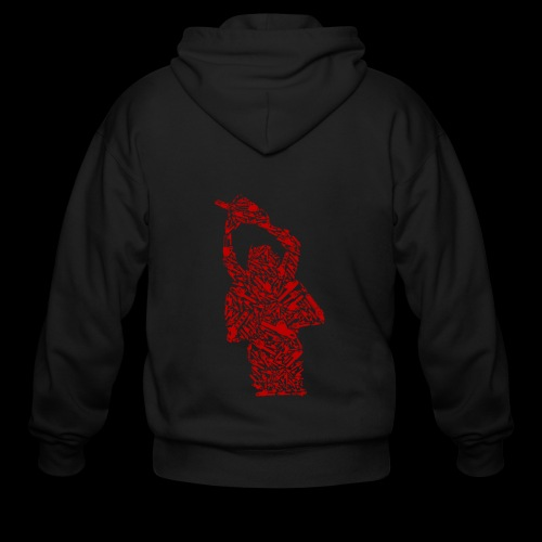 Chainsaw of Chainsaws | Halloween Horror Killer - Men's Zip Hoodie