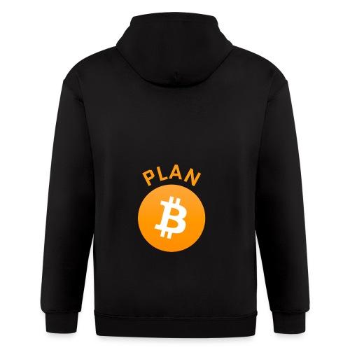 Plan B - Bitcoin - Men's Zip Hoodie