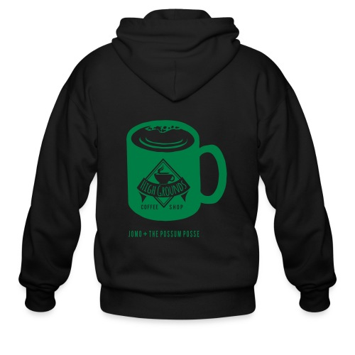 High Grounds Coffee Shop - Men's Zip Hoodie