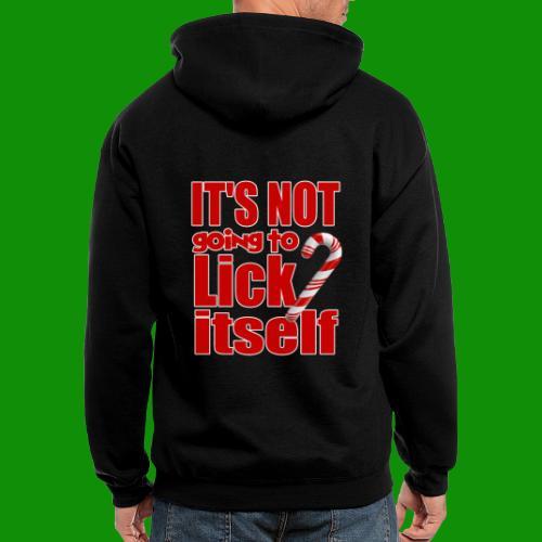 It's Not Going To Lick Itself - Men's Zip Hoodie