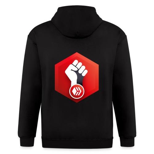 Hive Revolution Logo - Men's Zip Hoodie