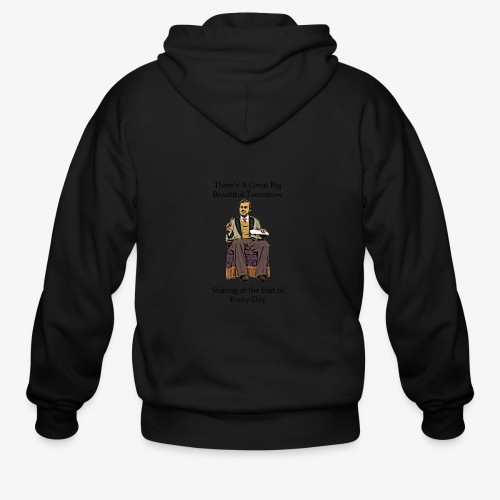 Great big Beautiful - Men's Zip Hoodie