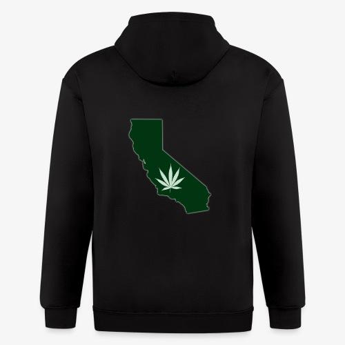 weed - Men's Zip Hoodie