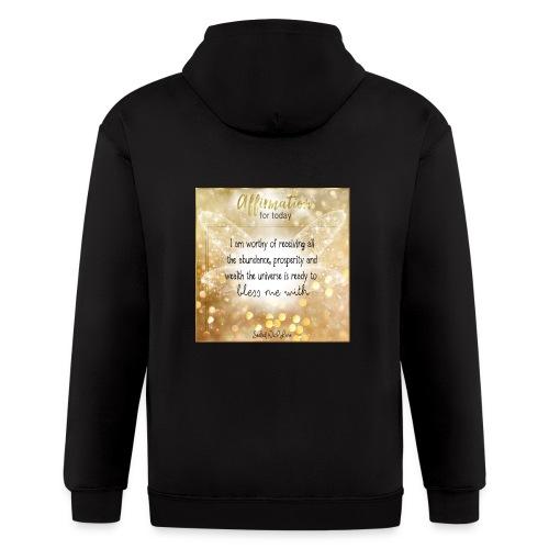Abundance - Men's Zip Hoodie