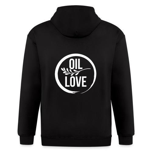 Oil Love - Men's Zip Hoodie