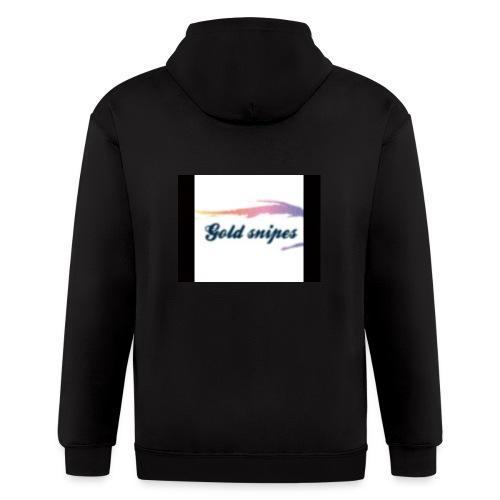 Kids Gold snipes Tshirt - Men's Zip Hoodie