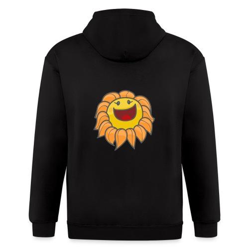 Happy sunflower - Men's Zip Hoodie