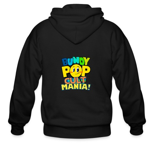 Bundy Pop Main Design - Men's Zip Hoodie