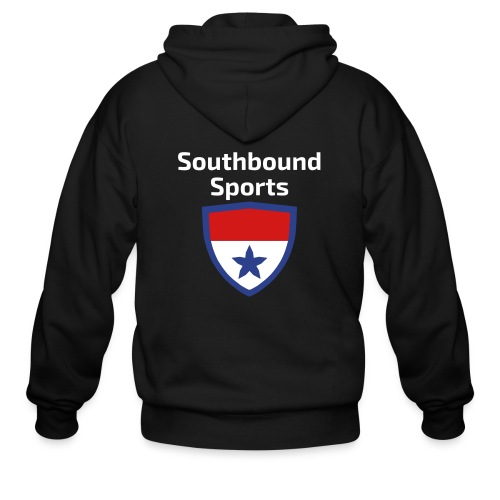The Southbound Sports Shield Logo. - Men's Zip Hoodie
