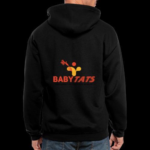 BABY TATS - TATTOOS FOR INFANTS! - Men's Zip Hoodie