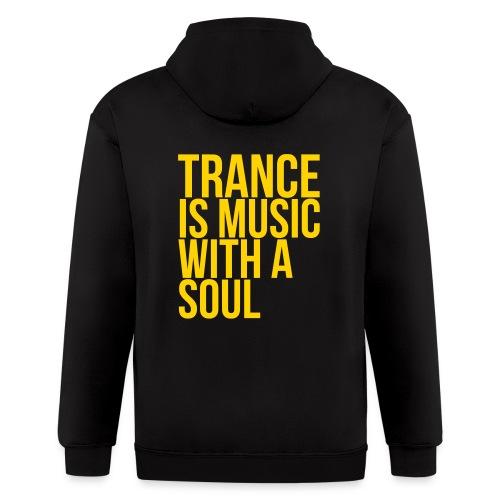 Trance soul - Men's Zip Hoodie