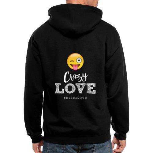 Crazy Love - Men's Zip Hoodie