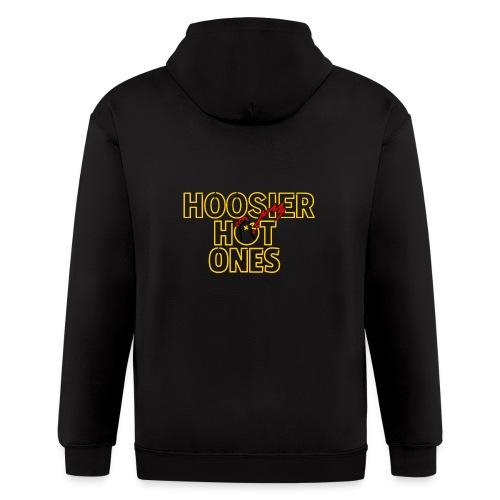 Hot Ones logo - Men's Zip Hoodie
