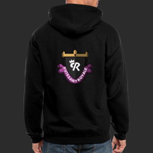 Puissant Royale Logo - Men's Zip Hoodie