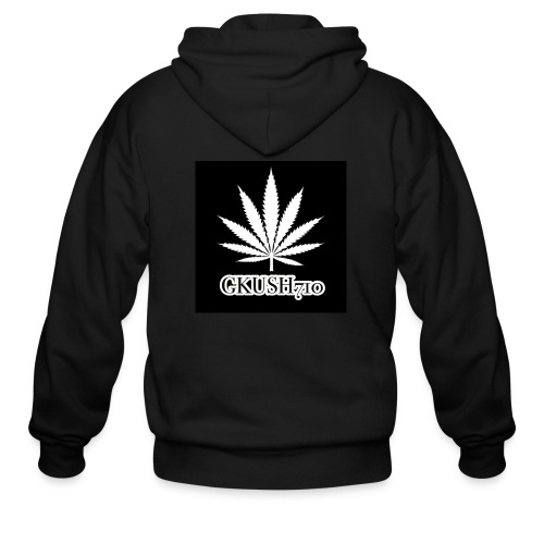 Weed Leaf Gkush710 Hoodies - Men's Zip Hoodie