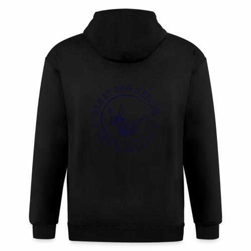 GDRNE Logo - Men's Zip Hoodie