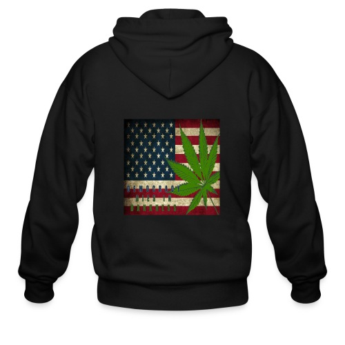 Political humor - Men's Zip Hoodie