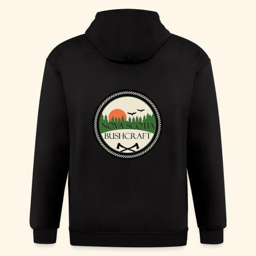 Nova Scotia Bushcraft - Men's Zip Hoodie