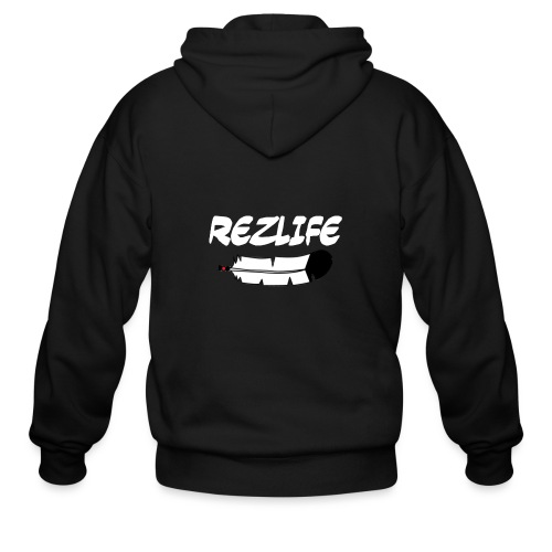 Rez Life - Men's Zip Hoodie