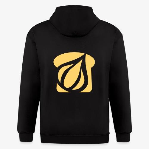 Garlic Toast - Men's Zip Hoodie