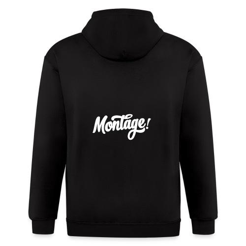 Montage - Men's Zip Hoodie