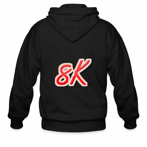 8K - Men's Zip Hoodie