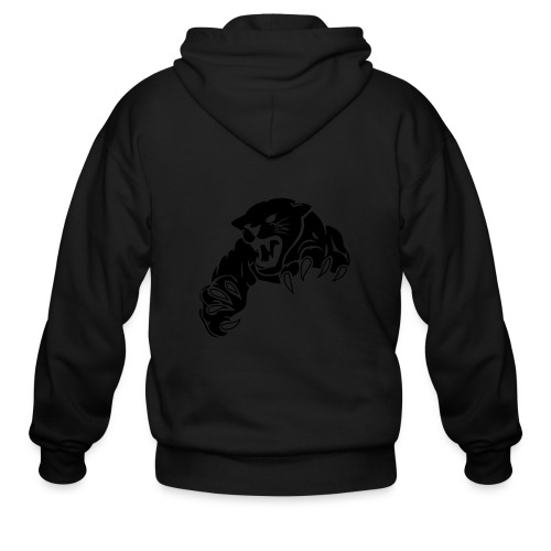 panther custom team graphic - Men's Zip Hoodie