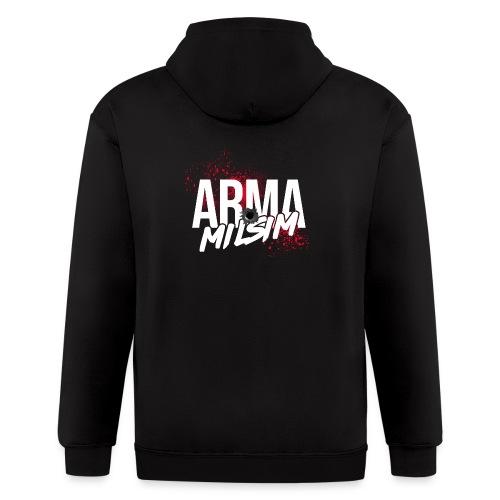 arma milsim2 - Men's Zip Hoodie