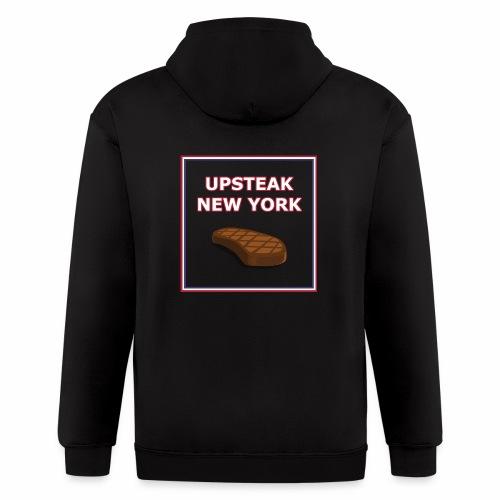Upsteak New York | July 4 Edition - Men's Zip Hoodie