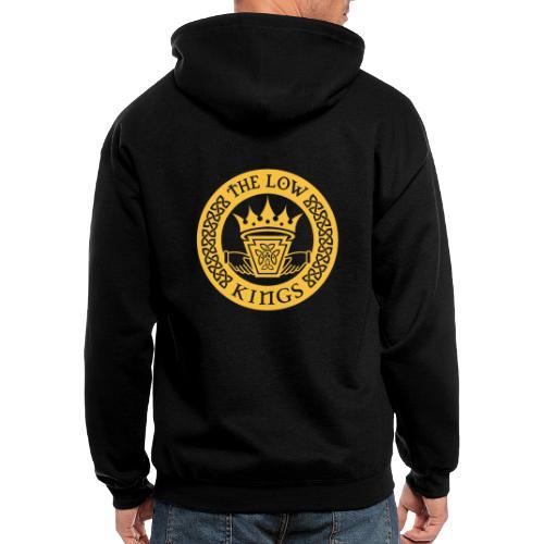 Gold logo - Men's Zip Hoodie