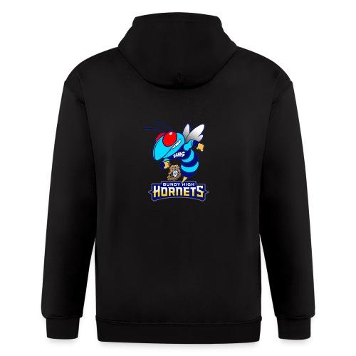 Hornets FINAL - Men's Zip Hoodie