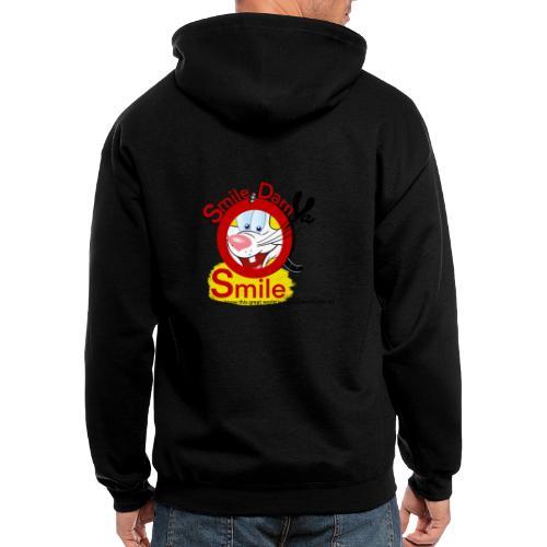 Smile Darn Ya Smile - Men's Zip Hoodie