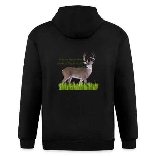 As the Deer - Men's Zip Hoodie