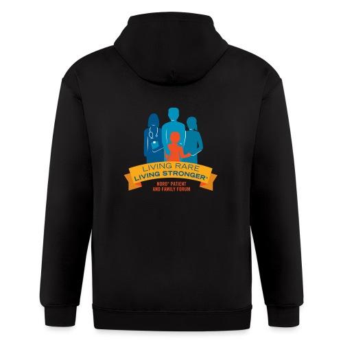LRLS Logo - Men's Zip Hoodie