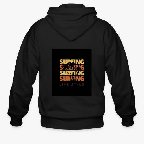 Surfing Life Style - Men's Zip Hoodie