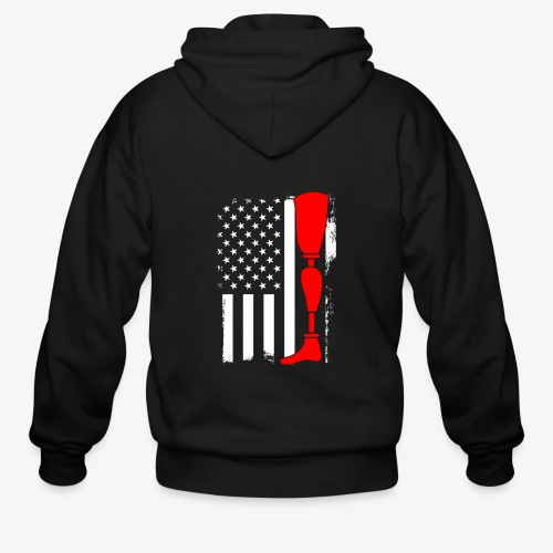 Equality for People with Disabilities - Men's Zip Hoodie