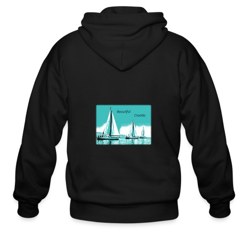 Beautiful Croatia - Men's Zip Hoodie