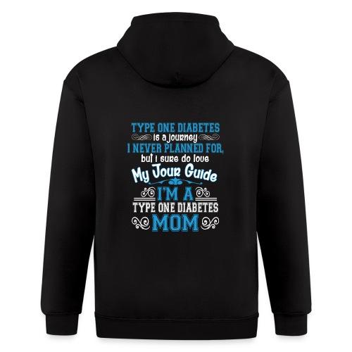 Happy Mother's Day - Men's Zip Hoodie